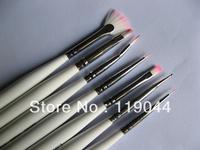 FREE SHIIPPING 7pcs/set Nail Brush Set Draw Brushes Dotting Painting Pen Polish Gel Brush Nail Art NA244