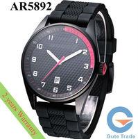 Fashion AR5892 Men's Watch Hardlex Glass Quartz Watches Stainless S. Wristwatch Free Ship With Original box
