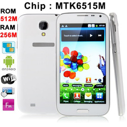i9500, Android 2.3, MTK6515M,5.0 inch FWVGA Capacitive Touch Screen Phone, Dual Sim Cards Dual Standby Dual Cameras, Quad Band(China (Mainland))