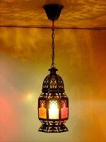 Southeast Asia Painted Hollow Out Iron Little House Balcony Pendant Light Free Shipping Romantic Handmade Corridor Pendant Light