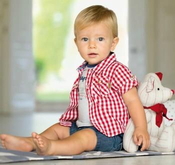 Wholesale 5sets/lot 2013 baby boy summer suit plaid coat + t-shirt + denim pants 3pcs clothing set