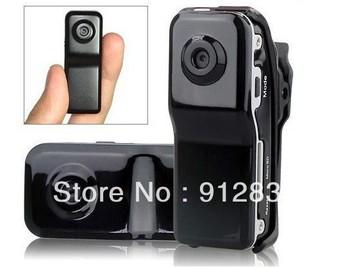 Mini DV High Definition Video Camera Webcam Function DVR Sports Video Camera MD80 1407 Free Shipping