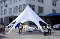 high quality aluminum star shade 14m