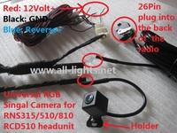 Free Shipping RGB Camera for Golf Passat Phaeton Magoton Skoda Seat Polo Jetta Tiguan Amarok Rearview Camera Backup Camera