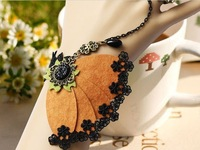 Min Order is $15  Free Shipping  Romantic Butterfly  Party Lace Bracelet With Ring    2013 NEW STYLE for Women