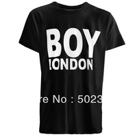 BOY LONDON men's t-shirt short sleeve FASHION shirt round neck Hot stamping100% cotton tee
