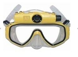 Best price Scuba Diving Mask 4GB HD Camcorder and Snorkel - 15 Meters underwater(China (Mainland))