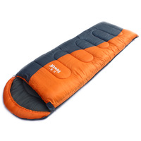 Singleplayer hewolf outdoor envelope sleeping bag patchwork double spring and autumn cotton sleeping bag 1523