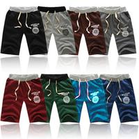 2013 casual sports pants male 100% knee-length wei pants cotton beach pants capris