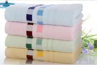 Hot sale 4pcs/lot 140x70cm, Towel, Bamboo towel,100%Bamboo fiber  Solid color, Nice soft