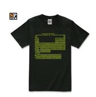 The Big Bang Theory TBBT Sheldon cool Leonard Penny First Kiss periodic table Short sleeves 100% cotton T shirt  Free Shipping
