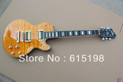 Indxpy 2013 New Arrival Firehawk Slash Signature Yellow 6 Strings natural Wood Electric Guitar Free Shipping(China (Mainland))