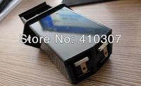 Hot Selling ! 9V Battery Box Case Black Plastic Battery Holder for One 9 Volt Battery High Qualtiy HK Post Free Shipping 50 pcs