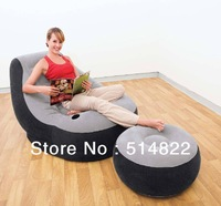 FREE SHIPPING intex inflatable leisure sofa with foot stool