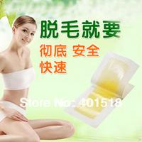 Hair Removal Depilatory Nonwoven Epilator Wax Strip Paper Pad Patch Waxing For Face / Legs / Bikini