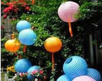 Wholesale - Free shipping 10pcs 30cm(12inches) Chinese round paper lantern wedding lantern festival decoration