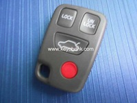 Volvo 3 +1 button keyless remote case & Volvo 4 button remote cover