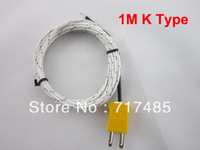 1M Thermocouple K Type with Connector (5PCS)
