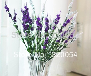 Free shipping,5pcs/lot,9 head lavender, Provence lavender,artificial silk flowers, 5 color, home decoration, wholesale.