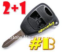 Chrysler 2+1 Button Remote Key Case