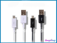 100Pcs/lot !  Micro USB Data Cable Charger Charging Cable V8 for Samsung i9300 Galaxy S3 Blackberry NOKIA HTC etc.Free by DHL