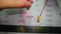 9MM Cross laser head red laser tube laser diode semiconductor laser tube