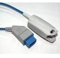 5pcs/lot High quality&brand new : Nihon Kohden Adult Finger Clip Spo2 Sensor, L= 3m,reusable spo2 sensor
