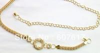 Ring diamond metal waist chains decoration chain skirt waist chain waistband