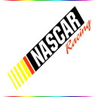"[19*6.8] ""NASCAR"" sticker Car Stickers Notebook Stickers"
