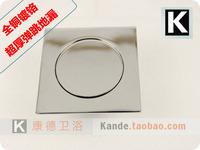 Copper thickening automatic bounce floor drain shower room big anti-odor floor drain pedal floor drain(KP-TP)