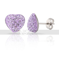 Free Shipping Fashion Crystal Rhinestoe Stud Earrings