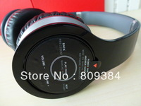 2013 &quot;b&quot; Wireless Bluetooth headphones with usb cables and control talk cables with SN No. in TOP high quality FREE SHIPPING