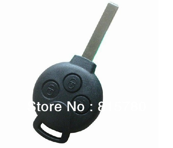 Professional Smart 3 Buttons Remote Smart Control Key 433Mhz, 7941 Chip, CR2016 Battery Specialized for Smart 451 +Free Shipping(China (Mainland))