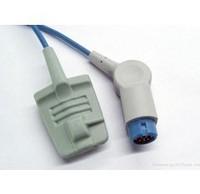 3pcs/lot Factory supply&Top quality HP Adult Silicone Soft Tip Spo2 Sensor ,spo2 probe