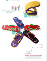 The little monkey new summer beach sandals couples to pinch slippers slip scuffs