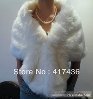 2014 Faux Fur Wedding AccessoriesFashion Bridal Shawls Wraps Bolero Party Prom Evening Jackets Winter Warm Cloak Coats Cape New