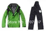 Kids sports suit, windbreak and waterproof jacket and pant for boys girls, Size S-XXL for 2Y-12Y, outdoor hiking, traveling