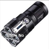 Free Shipping Nitecore TM26 LED 3500 luments Flashlight Utilizes 4 x CREE XM-L LED The smallest LED Torch