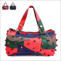 Free Shipping 2013New Arrival 100% Genuine Leather Women Shoulder Tote Handbag Fashion Designer Ladies bag  2131