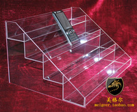 Nail polish oil display rack organic glass frame acrylic frame cosmetic rack plaid pavans 12006 display rack