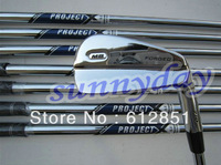 710 golf iron set (3-9,P 8pcs full set) with R/S Steel shaft and free headcover freeshipping