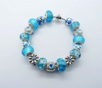 p15 jewelry 925 sterling silver chamilia beads bracelets.fashion bracelet jewelry.wholesale price