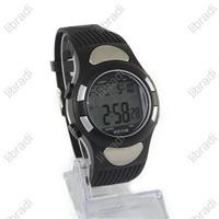 1pcs Heart Rate Monitor EL Backlight Sports Wrist Watch Stopwatch Alarm Clock 05