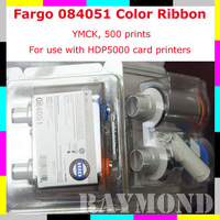 Fargo 84051 YMCK Color Ribbon HID 84051 ribbon for HDP5000 card printer