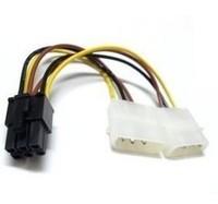 Graphics card power cord big 4p 6p power supply bineme 4p 6p power cord