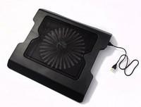 883 2 usb mouth laptop cooling base cooling pad rack big fan hub function