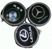 Emblem 24 cd bag tin cd bag stereo car cd box the mark