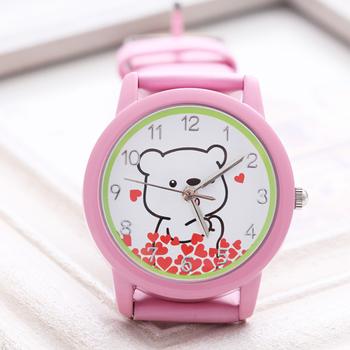 Kezzi child watch bear cartoon watch birthday gift digital