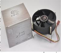 X3 lga775 intel cpu heatsink cpu fan quiet computer accessories