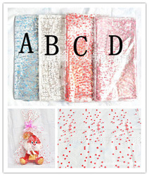 Best price Free shipping Multicolor heart gift plastic wrapping paper packing paper sheet 18x25CM 100pcs/lot/one color(China (Mainland))